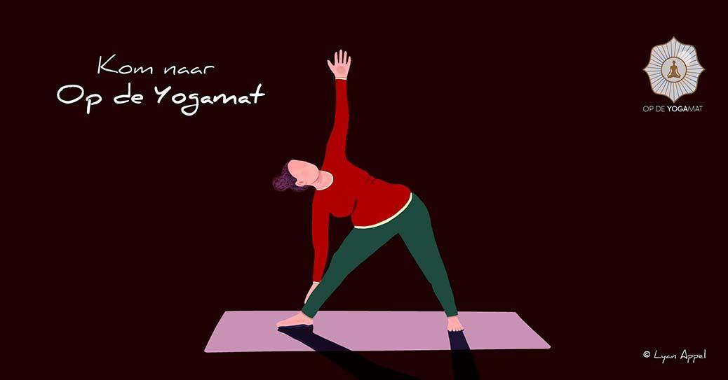 Hatha yoga bij Op de Yogamat